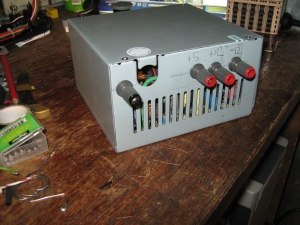 The completed power supply