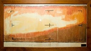 Crayon rendition of the Mars Landscape