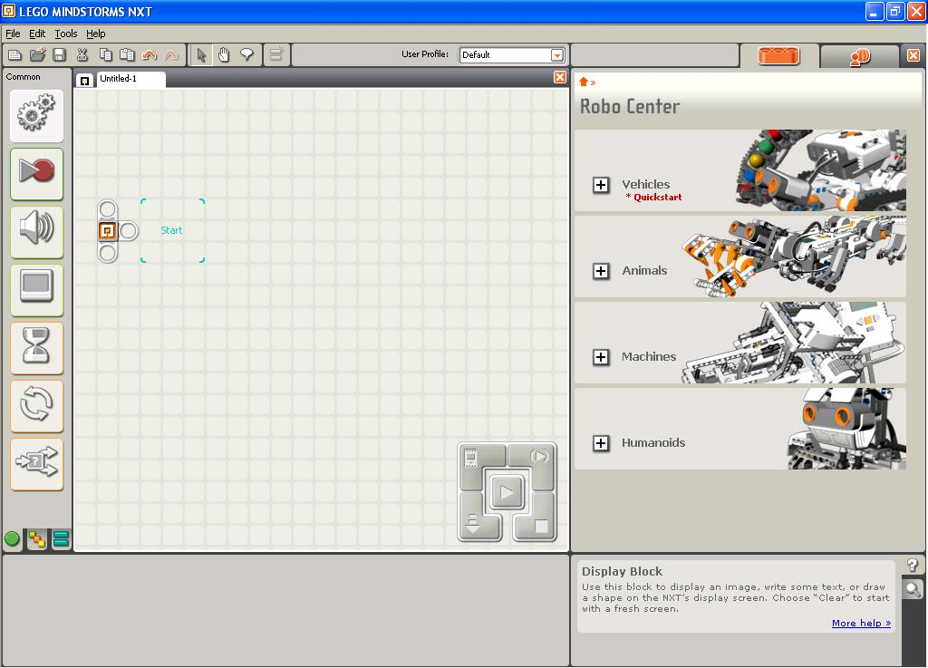 Mindstorms Nxt Software