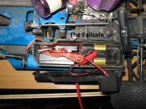 The Failsafe installed in the car