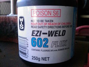 Ezi-Weld flux
