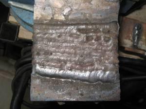 welding pad
