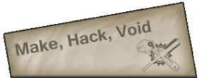 Make, Hack, Void Logo