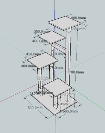 The sketchup design